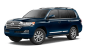 New Toyota Land Cruiser at Vacaville
