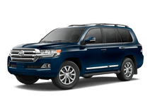 New Toyota Land Cruiser at Palatine
