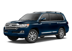 New Toyota Land Cruiser at Green Bay