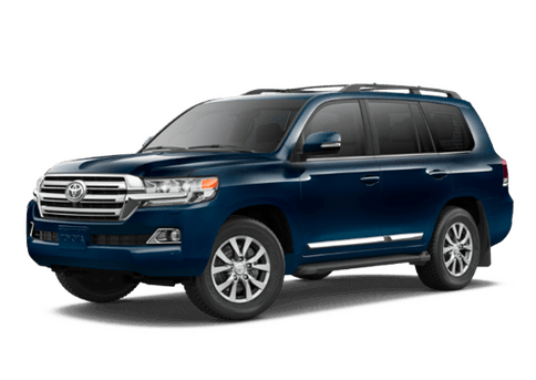 New Toyota Land Cruiser at Oroville