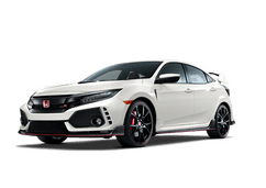 New Honda Civic Type R at Salinas