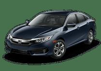 New Honda Civic Sedan at Miami