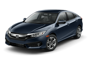 New Honda Civic Sedan at Chattanooga
