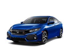 New Honda Civic Si Sedan at Salinas