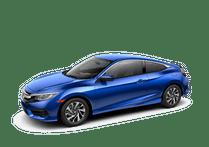 New Honda Civic Coupe at Miami