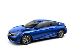 New Honda Civic Coupe at Holland