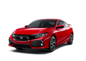 New Honda Civic Si Coupe at Washington