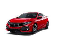 New Honda Civic Si Coupe at Salinas