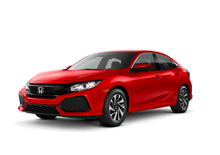 New Honda Civic Hatchback at Salinas