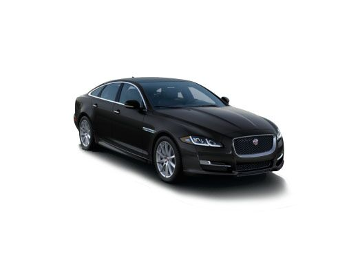 New Jaguar XJ near San Francisco