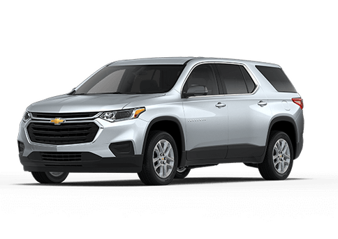 New Chevrolet Traverse in Fredericksburg