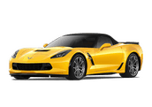 New Chevrolet Corvette at Woodlawn