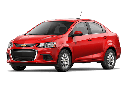 New Chevrolet Sonic near Dayton area