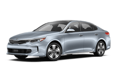 New Kia Optima Hybrid at Lakeland