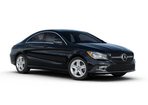 New Mercedes-Benz CLA at Bellingham