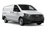 New Mercedes-Benz Metris Cargo Van at San Luis Obispo