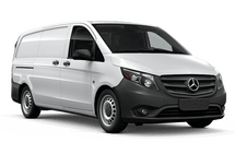 New Mercedes-Benz Metris Cargo Van at Chicago