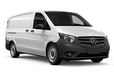 New Mercedes-Benz Metris Cargo Van at Seattle