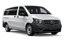 New Mercedes-Benz Metris Passenger Van at Chicago