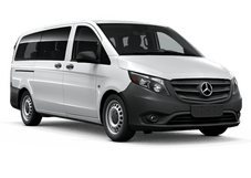 New Mercedes-Benz Metris Passenger Van at Seattle