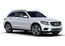 New Mercedes-Benz GLC at Houston