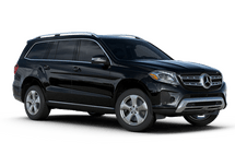 New Mercedes-Benz GLS at Memphis