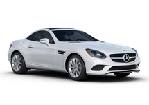 New Mercedes-Benz SLC at Greenland