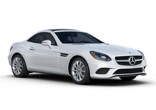 New Mercedes-Benz SLC at Seattle