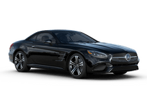 New Mercedes-Benz SL at Harlingen