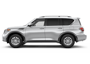 New Nissan Armada at Wilkesboro