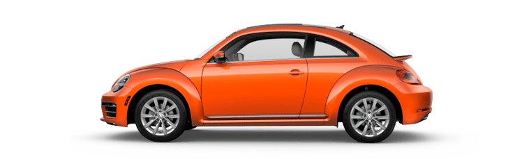 New Volkswagen Beetle near San Diego