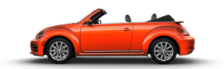 New Volkswagen Beetle Convertible in Seattle