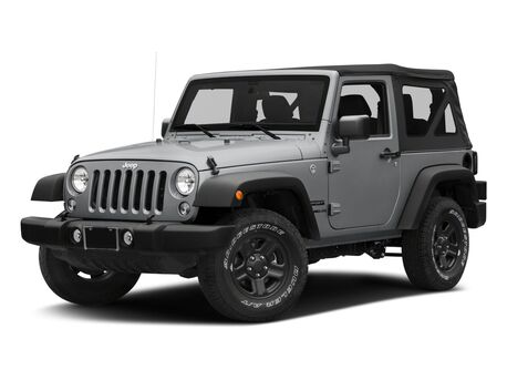 New Jeep Wrangler JK Unlimited in Spring