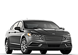 New Ford Fusion at Penticton