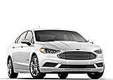 New Ford Fusion Hybrid at Penticton