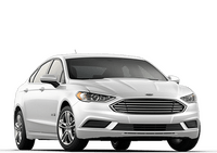 New Ford Fusion Hybrid at Fallon