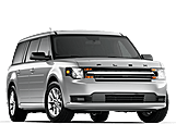 New Ford Flex at Penticton