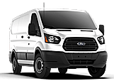 New Ford Transit Cargo Van at Penticton