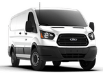 New Ford Transit Cargo Van at Essex