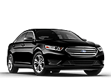 New Ford Taurus at Penticton