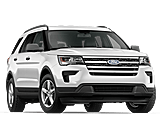 New Ford Explorer at Penticton