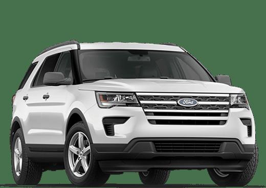 New Ford Explorer near Penticton