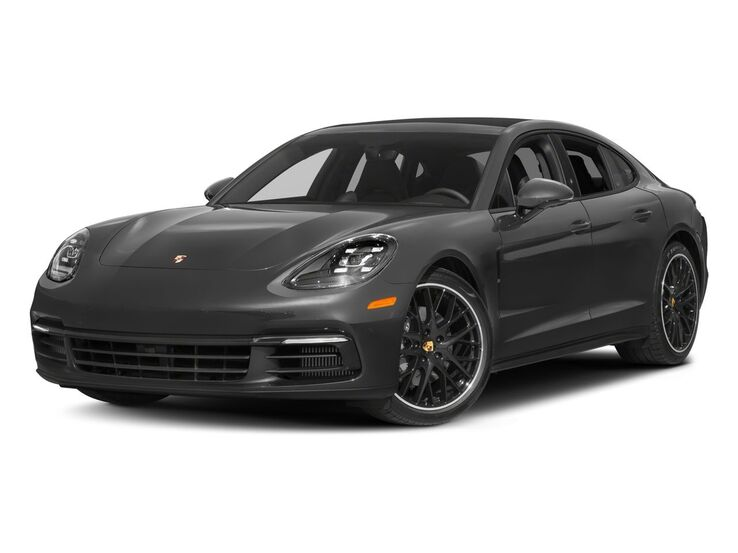 New Porsche Panamera near Highland Park
