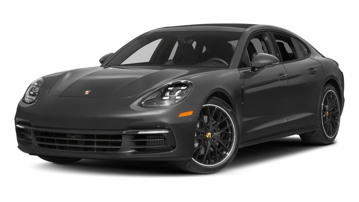 New Porsche Panamera near Columbia
