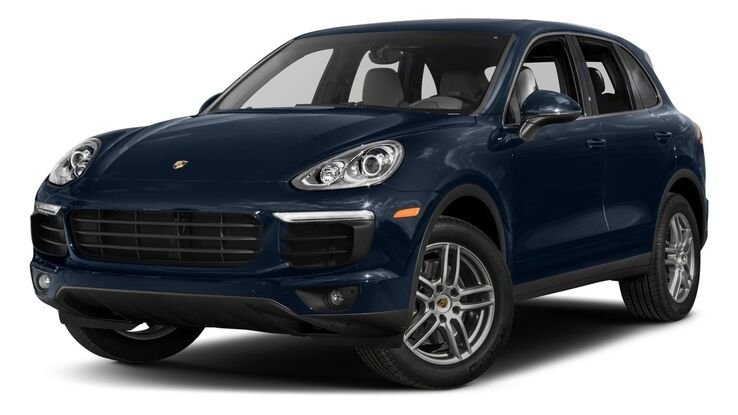 New Porsche Cayenne near Columbia