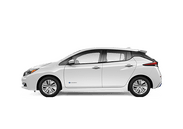 New Nissan LEAF at Wilkesboro