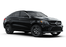 New Mercedes-Benz GLE at Houston
