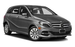 New Mercedes-Benz B-Class at Seattle