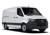 New Mercedes-Benz Sprinter Cargo Van at Bellingham