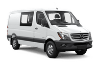 New Mercedes-Benz Sprinter Crew Van at San Luis Obispo